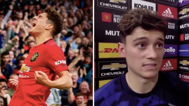 Manchester United's Daniel James Gave Emotional Post-Match Interview After Chelsea Game