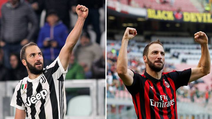 Gonzalo Higuaín Reveals The Real Reason He Left Juventus For AC Milan