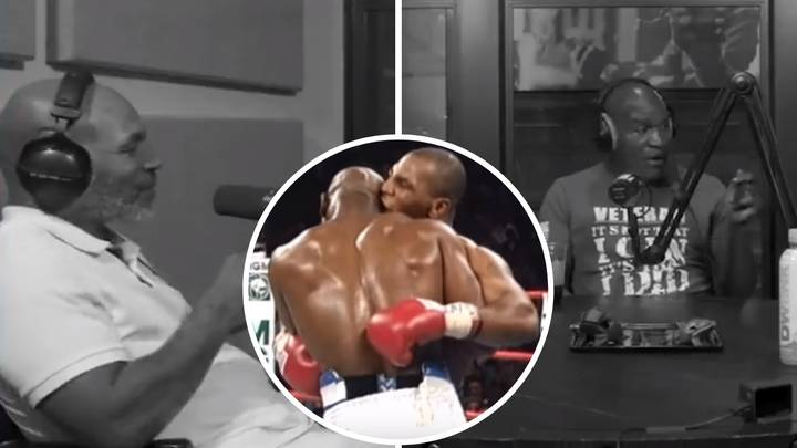 Mike Tyson And Evander Holyfield Sit Down And Discuss The Infamous Ear Bite