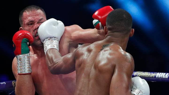 Anthony Joshua Releases Super Slow-Mo Replay Of His Kubrat Pulev Knockout