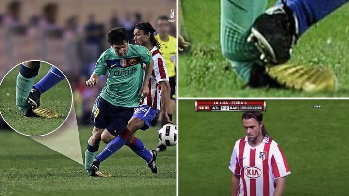 Lionel Messi's Career Could Have Been Ended After Horrendous Tackle In 2010