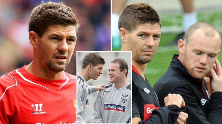 Steven Gerrard Told Wayne Rooney Which Two Man United Players Were 'P****s' When They Played Against Liverpool