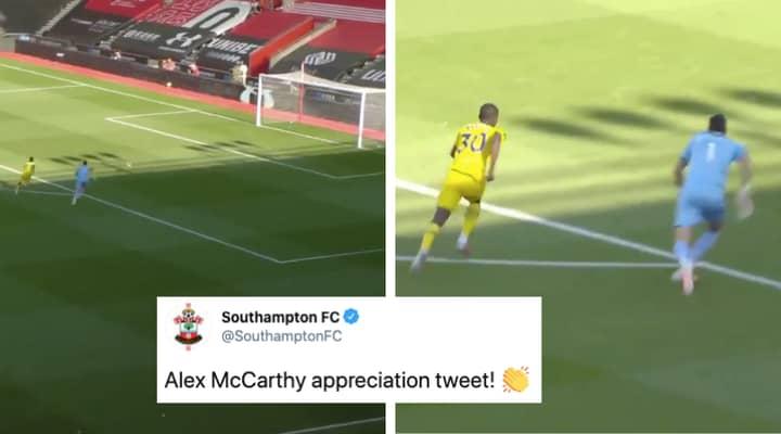 Southampton's Tweet Praising Alex McCarthy Hilariously Backfires Moments Later