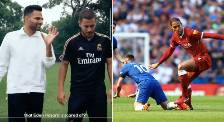 Eden Hazard Names Virgil Van Dijk As The Toughest Defender He Has Played Against
