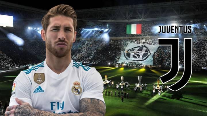 Juventus Eyeing Up Audacious Summer Swoop For Real Madrid's Sergio Ramos