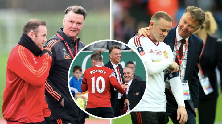 Wayne Rooney Says Louis Van Gaal Is The Best Coach He's Ever Worked With