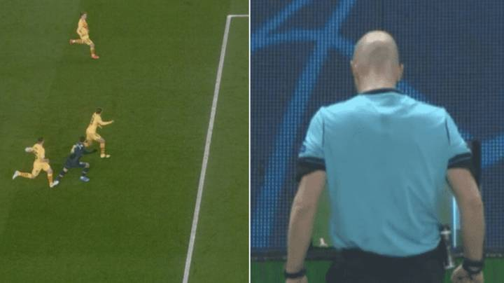 Paris Saint-Germain Given Controversial Penalty After VAR Call Against Barcelona
