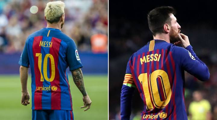 On This Day In 2008, Lionel Messi Wore The No.10 Shirt For The First Time
