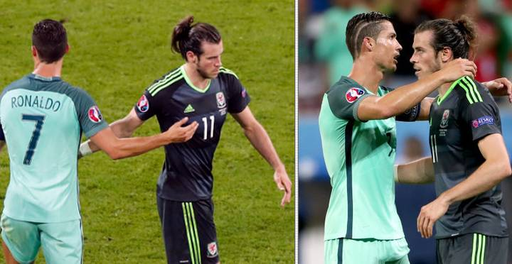 Revealed: What Cristiano Ronaldo Told Gareth Bale After Dumping Wales Out Of Euro 2016