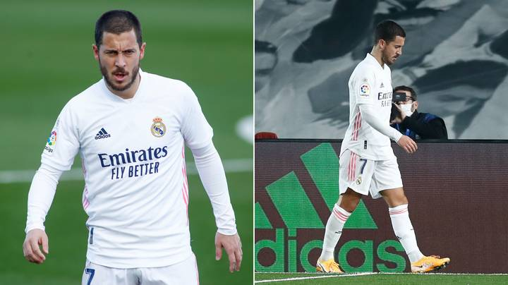 Real Madrid Star Eden Hazard Suffers Yet Another Injury And It's Sad To See