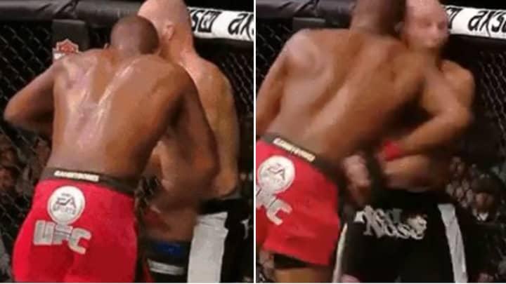 Rare Clip Of Jon Jones Using Shoulder Strikes In UFC Fight Proves He Invented Move Not Conor McGregor