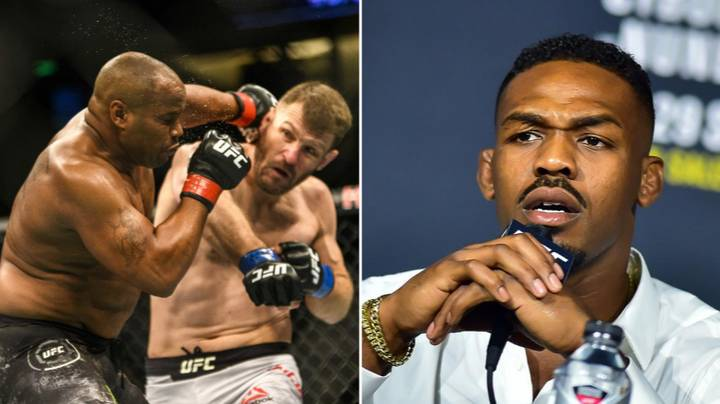 Jon Jones Responds To Stipe Miocic's UFC 252 Win Over Daniel Cormier