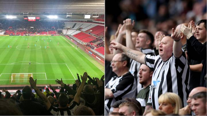 """Newcastle Fans Chant """"We've Seen You Cry On Netflix"""" To Sunderland Supporters"""