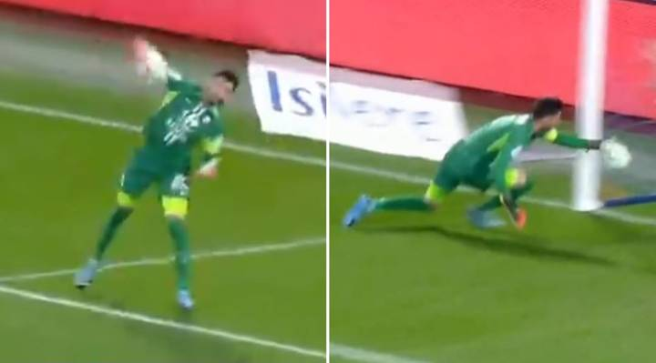 French League Goalkeeper's Disaster Throw Backfires And Lands In Own Net