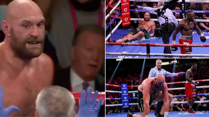 Boxing Fans React To Slow Count After Tyson Fury's Knockdown In Round Four