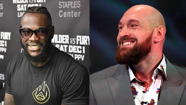 Fury Blames Stage Brawl On Wilder