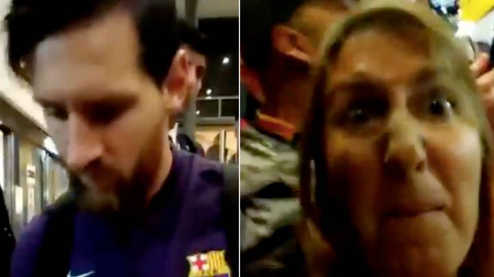 Lionel Messi Refuses To Sign This Fan's Shirt, But Her Reaction Is Uncalled For