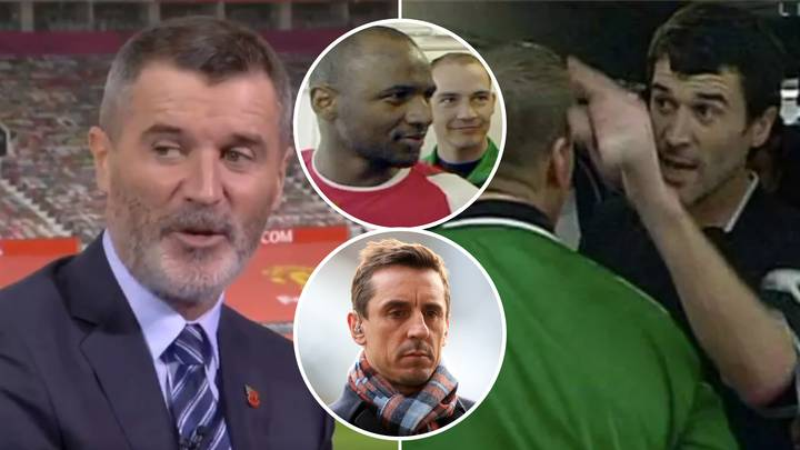 Roy Keane Blames Gary Neville For Infamous Manchester United Vs Arsenal Tunnel Spat