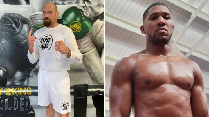 Tyson Fury Looks In The Shape Of His Life Ahead Of Anthony Joshua Fight