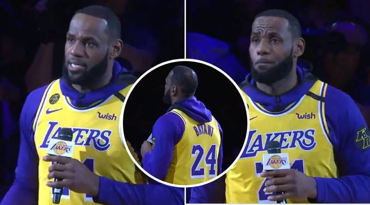 LeBron James Dropped An Incredible Heart-Touching Tribute For Kobe Bryant Before LA Lakers Match