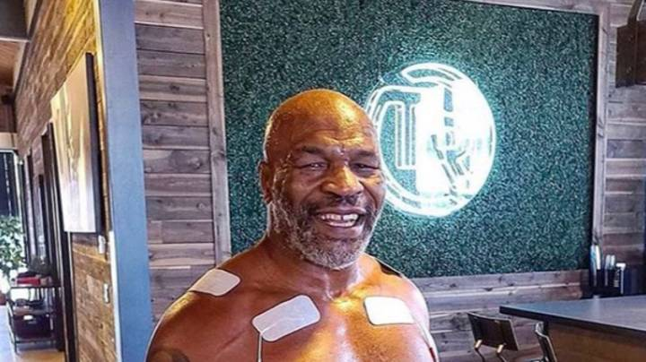 Mike Tyson Shows Off His Incredible Toned Physique Aged 54