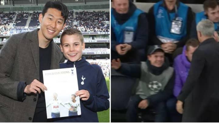"""Heroic Tottenham Ball Boy Reveals Jose Mourinho """"Made My Life"""""""