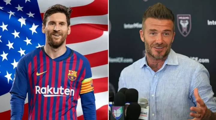 David Beckham Reportedly Steps Up Miami's Bid To Sign Lionel Messi By Sending Fixer For Talks
