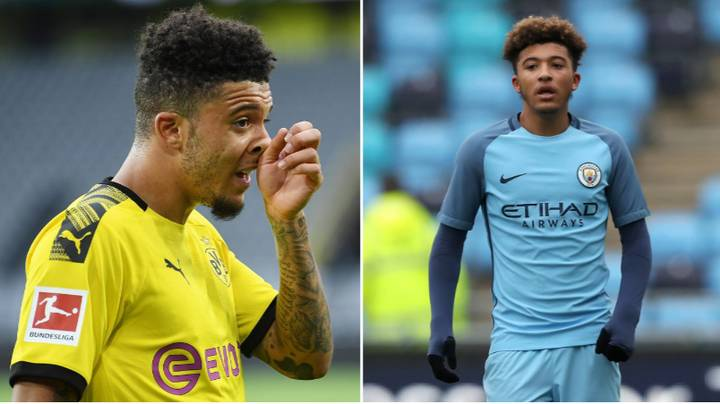 Manchester City Set To Receive Payment From Manchester United's Deal To Sign Jadon Sancho