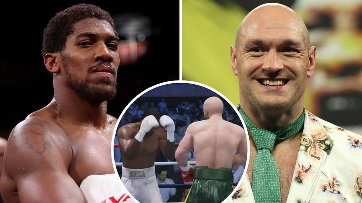 Tyson Fury Vs Anthony Joshua Mega-Fight Simulated, Only One Fighter Gets Knocked Down