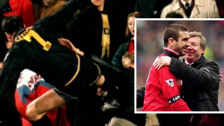 The Way Sir Alex Ferguson Confronted Eric Cantona After 'Kung-Fu Kick' Sums Him Up