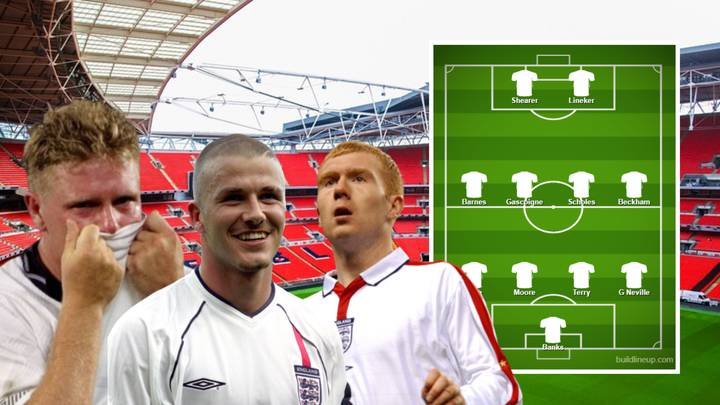 Fans Have Voted For England's All-Time Greatest XI And The Results Are Controversial