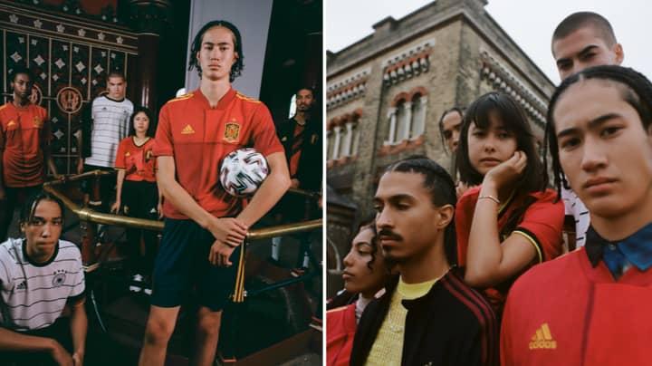 Adidas Bring Out Beautiful Range Of National Team Kits