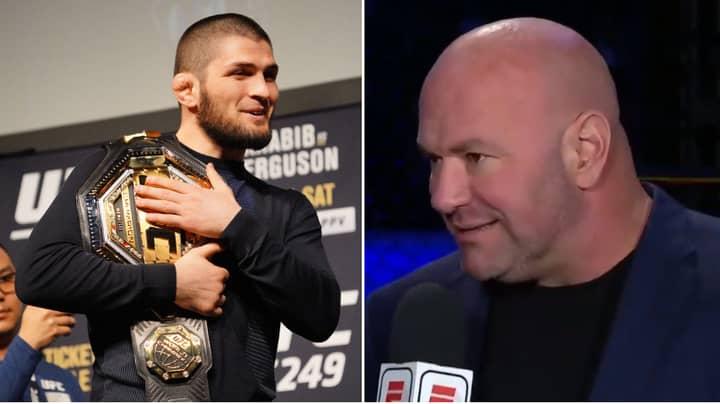 UFC President Dana White Makes Announcement On Khabib's Retirement