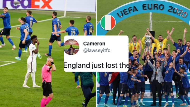 Fan Predicted England Would Lose Euro 2020 Final To Italy On Penalties Eight Years Ago