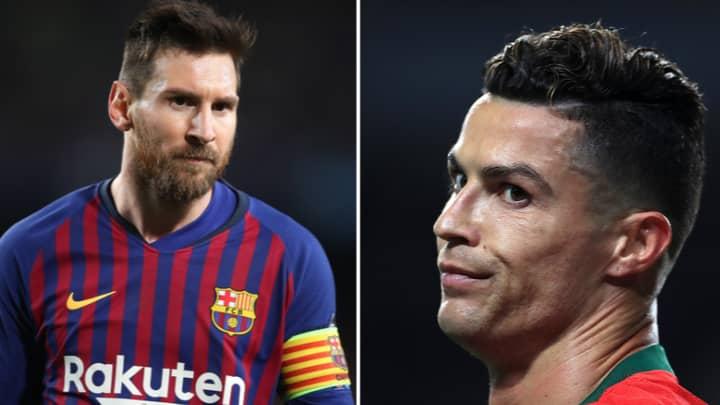 A Supercomputer Ended The Lionel Messi Or Cristiano Ronaldo Debate