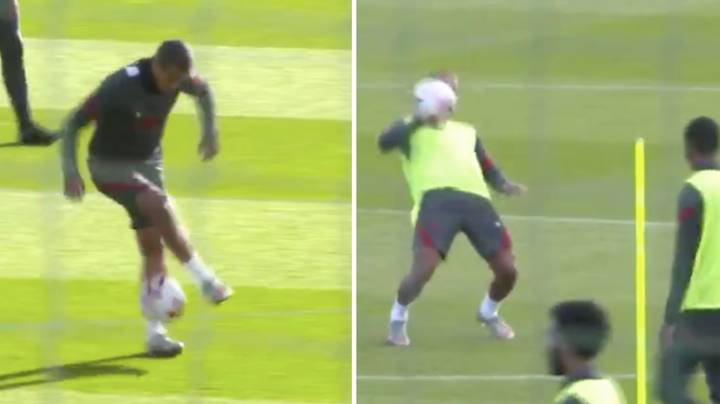 Liverpool Fans Are Loving Thiago's Confidence In Training Clips
