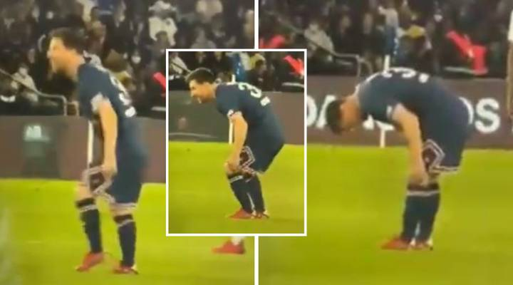 Footage Could Help Explain Why Lionel Messi Was Subbed Off For PSG