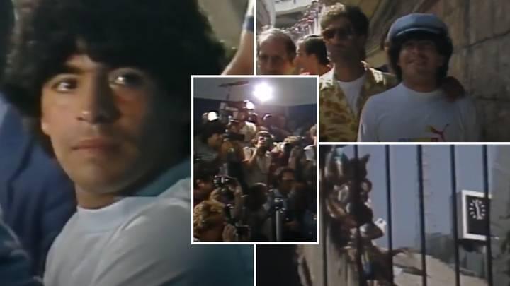 Diego Maradona Documentary Is Free To Watch In The UK And The First Clip Is Essential Viewing