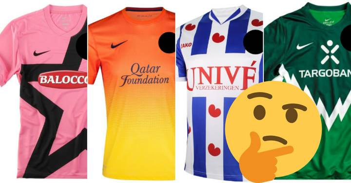 QUIZ: Can You Name These 20 European Clubs By Their Unusual Kits?