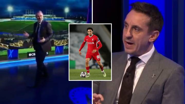 Gary Neville Mocks Jamie Carragher After Trent Alexander-Arnold U-Turn