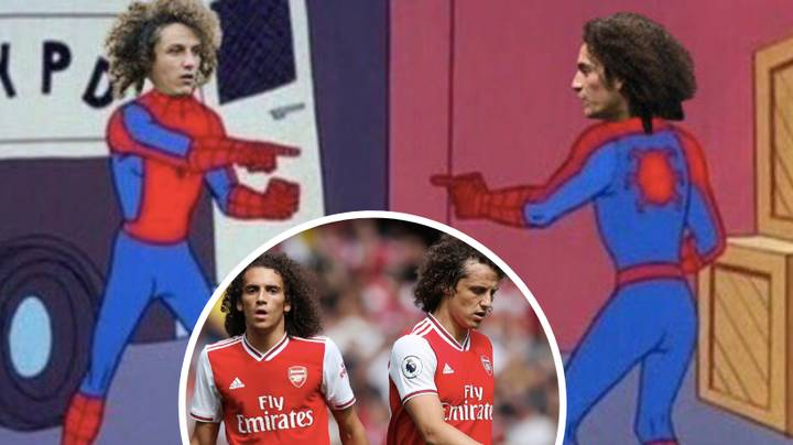 Everyone Spent Arsenal vs. Burnley Trying To Figure Out The Difference Between David Luiz And Matteo Guendouzi