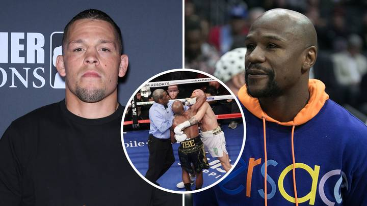 Fan Argued Nate Diaz Would Have 'Finished' Floyd Mayweather Unlike Conor McGregor