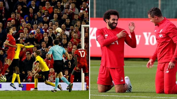Mo Salah Ends Dejan Lovren With Comment On Instagram Post