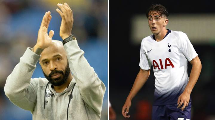 Former Spurs Youngster Is Spending Lockdown In Same Hotel As Thierry Henry