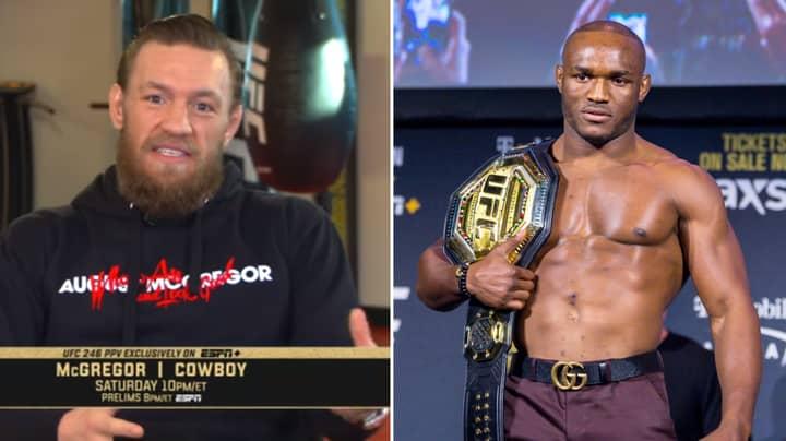 "Conor McGregor Fires Back At Kamaru Usman's ""Tremendous Mismatch"" Claim"