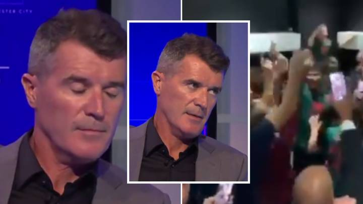 Roy Keane's Reaction To Aston Villa Players Celebrating Premier League Survival Is Exactly What You'd Expect