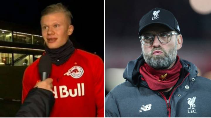 Erling Haaland Has Revealed His Prediction For Crunch Clash With Liverpool Tonight
