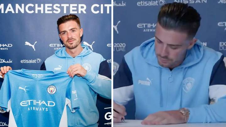 Manchester City Complete Premier League Record £100 Million Signing Of Jack Grealish