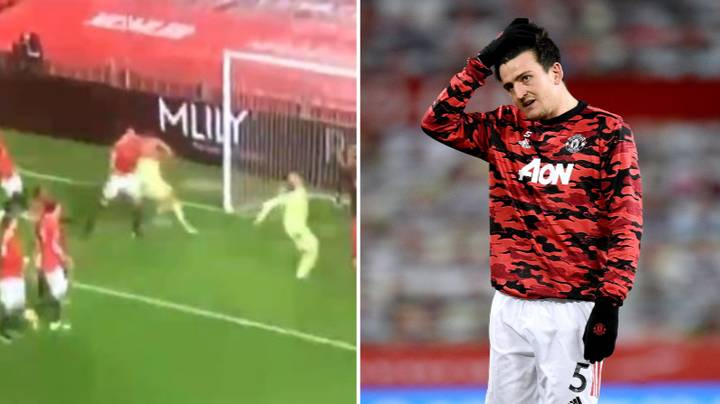Fans Claim Harry Maguire 'Elbowed' Jamaal Lascelles During Manchester United's Win Vs Newcastle United