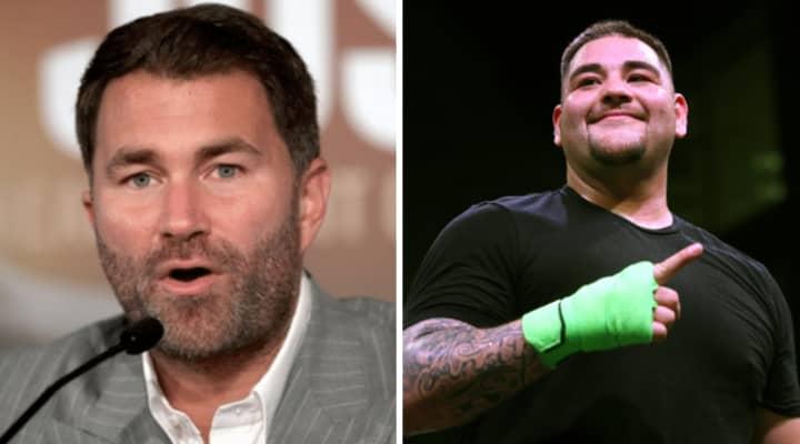 Eddie Hearn Reveals Andy Ruiz Jr's Instagram Message That Got Him Anthony Joshua Fight